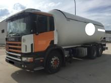 camión cisterna de gas Scania