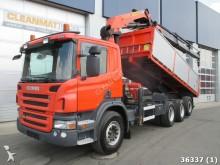 camión Scania P 400 8x4 Euro 5 Retarder alfinger 21 ton/meter