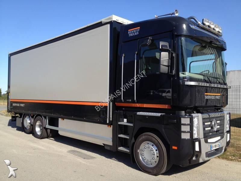 camion rideaux coulissants plsc occasion renault magnum. Black Bedroom Furniture Sets. Home Design Ideas