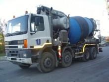 camion calcestruzzo betoniera mescolatore + pompa DAF