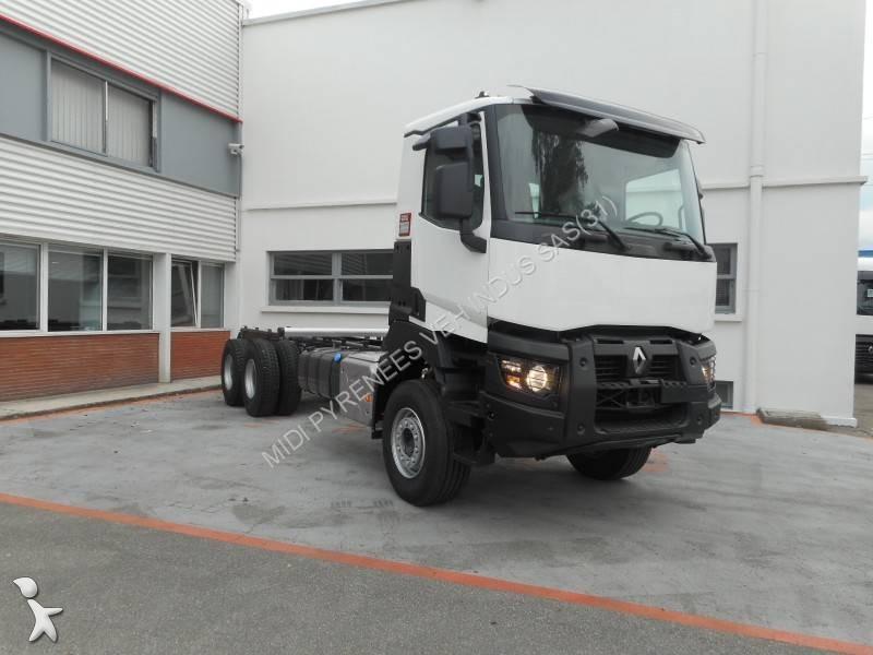 camion renault plateau gamme k 380 euro 6 occasion n 1707865. Black Bedroom Furniture Sets. Home Design Ideas