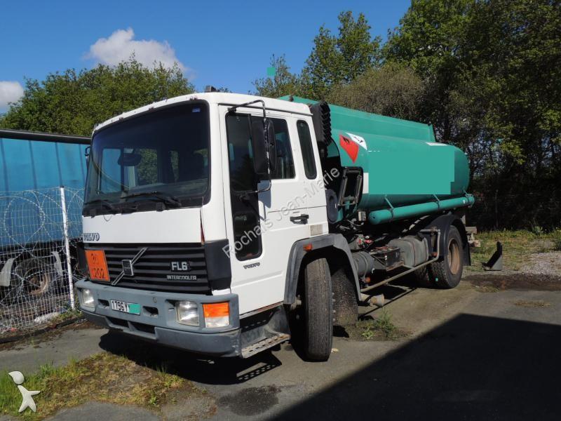 camion volvo citerne hydrocarbures fl6 4x2 gazoil euro 1 occasion n 1717807. Black Bedroom Furniture Sets. Home Design Ideas