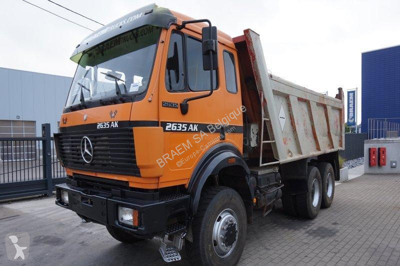 camion mercedes benne ak 2635 6x6 gazoil occasion n 1722240. Black Bedroom Furniture Sets. Home Design Ideas