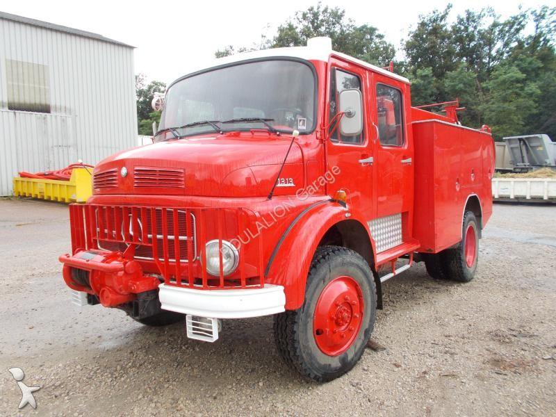 camion mercedes pompiers la 1313 4x4 gazoil euro 1 occasion n 1724168. Black Bedroom Furniture Sets. Home Design Ideas