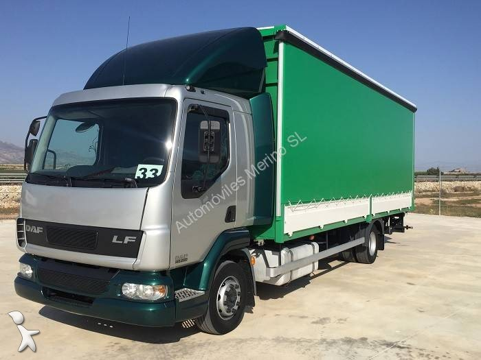 camion daf plateau ridelles b ch lf55 220 4x2 gazoil euro. Black Bedroom Furniture Sets. Home Design Ideas