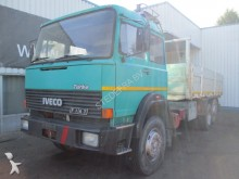 camion Iveco Fiat 180-24, 6X2, Spring Susp., Flatbed truck