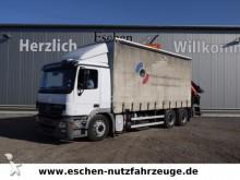 camion Mercedes 2636 LL 6x4, Palfinger PK 27002 Kran + Jib