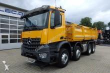camion Mercedes Arocs 3543 8x4 Blatt-Luft MEILLER mit Bordmatic