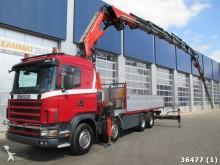 camion Scania R 124.470 8x4 etade Fassi 80 ton/mete Kan +