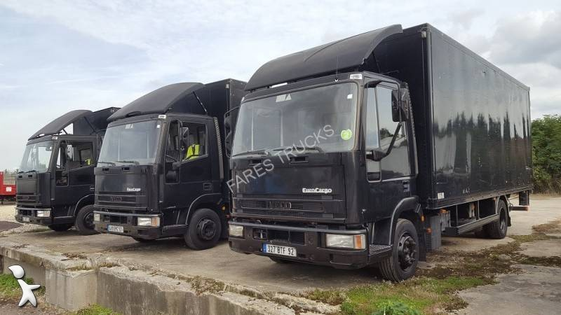camion iveco fourgon d m nagement eurocargo 85e15 4x2 gazoil euro 2 hayon occasion n 1749318. Black Bedroom Furniture Sets. Home Design Ideas