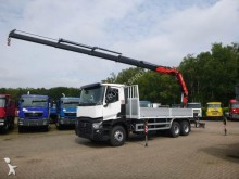 camion Renault c 430 6x4 grue arriere