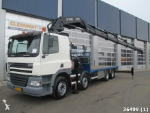 camion DAF 85 FAC CF 430 8x2 Hiab 70 ton/meter Kran