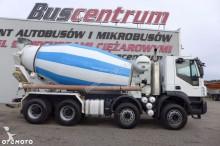 camion béton malaxeur + pompe occasion