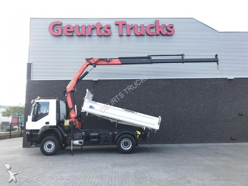 Tweedehands vrachtwagen iveco driezijdige kipper trakker for Vrachtwagen kipper met kraan