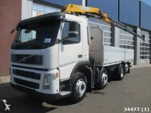 camion Volvo FM 400 8x2 Euro 5 Manual Effer 15 ton/meter Kran