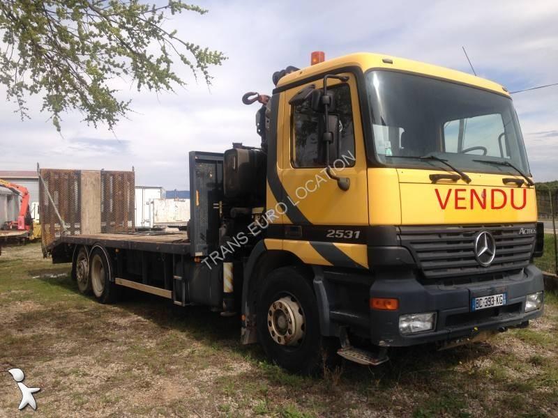 camion mercedes porte engins actros 2531 6x2 gazoil euro 3. Black Bedroom Furniture Sets. Home Design Ideas