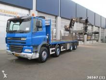 camión Ginaf X4241 S 8x4 Hiab 20 ton/meter Kran Rijplaten tru