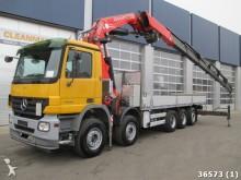 camion Mercedes Actros 4444 10x4 Retarder Fassi 80 ton/meter Kra