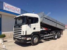 camion ribaltabile trilaterale Scania
