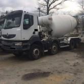 camion Renault KERAX 410 DXI 8x4 10x!!