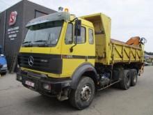 camion Mercedes 2638 K top 1a 13 t achse + kran!!
