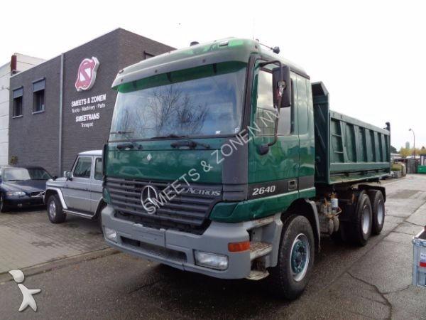 Camion ribaltabili 6x4 713 annunci di camion ribaltabili for Rimorchi ribaltabili trilaterali usati