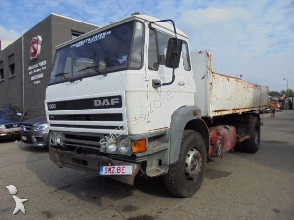 Camion daf ribaltabili 210 annunci di camion daf for Rimorchi ribaltabili trilaterali usati