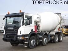 camión Scania P360 8x4 EURO 5/ LIEBHERR 9M3 MIXER/ 73 DKM
