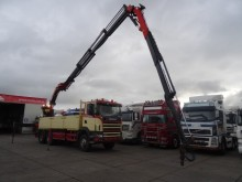 camion Scania 124-400 6X4 MET PALFINGER PK35000 + FLY JIP REMO