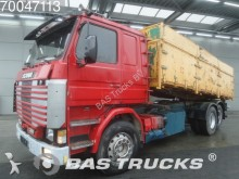 camion Scania R113HL 380 6X2 Manual Liftachse 3-Seiten Steelsu