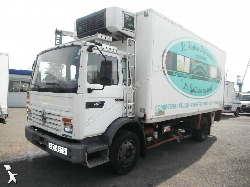 camion renault frigo thermoking mono temp rature gamme m 150 4x2 gazoil euro 1 occasion n 1830642. Black Bedroom Furniture Sets. Home Design Ideas