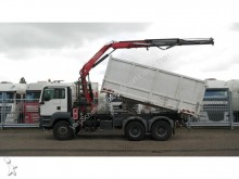 camión MAN TGS 26.320 6X4 2 SIDE TIPPER WITH FASSI 130 A.22