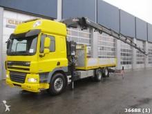 camion DAF 85 FAS CF 510 6x2 Euro 5 Hyva 36 ton/meter Kran
