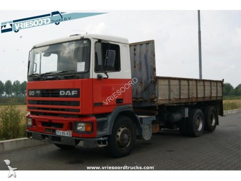 camion daf plateau occasion n 1833114. Black Bedroom Furniture Sets. Home Design Ideas