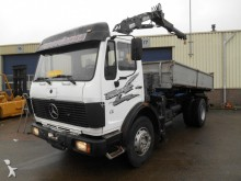 camión Mercedes 1622 Kipper + Crane V6 Top Condition