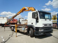 camion Iveco MP240E42/PS-manuell-Lenkachse- Effer 18600