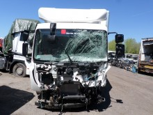 camion fourgon polyfond accidenté