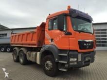 camion MAN TGS 26.480 6x4 Meiller Kipper mit Bordmatik