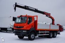 camion Renault KERAX / 370.26 / 6 X 4 / SKRZYNIOWY + HDS