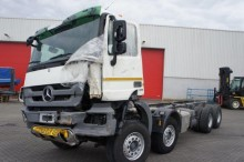 camión Mercedes Actros 4141 8x4 Euro 5 Full Steel Suspension No
