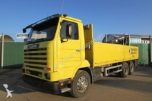 camión Scania 113 H 380 6x4 BB - KRAN ATLAS 140.1