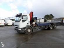 camion piattaforma trasporto ferro Renault