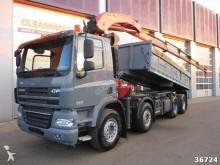 camión DAF 85 FAD СF 460 8x4 Palfinger 32 ton/meter Kran