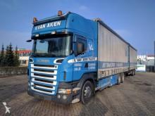 camion Scania R420 6x2 Topline Euro4 Retarder Combi Van Hool
