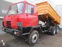 camión volquete trilateral Tatra