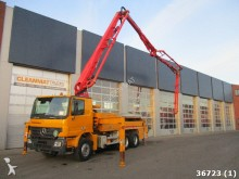 camión Mercedes Actros 2636 6x4 Putzmeister 28 meter 4-arm boom