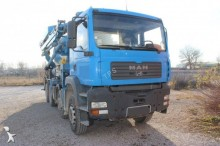 camión hormigón mezclador + bomba MAN