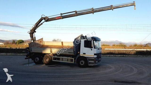 Camion mercedes ribaltabili 529 annunci di mercedes for Rimorchi ribaltabili trilaterali usati