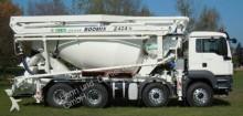 camion MAN TGS 41.400 8x4 Mixer + Pumpe 24m