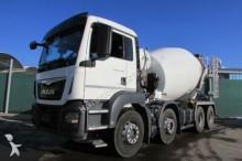camion MAN TGS 32.400 8x4 BB - STETTER 9 m³ Nr.: 385